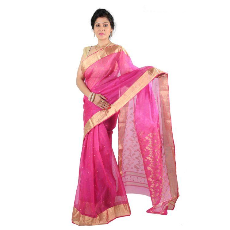 Designer Chanderi Silk Sarees